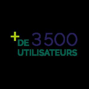 logo 3500 utilisateurs